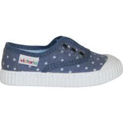 Children's Victoria Inglesa Estrellas Elastico Sneaker Azul
