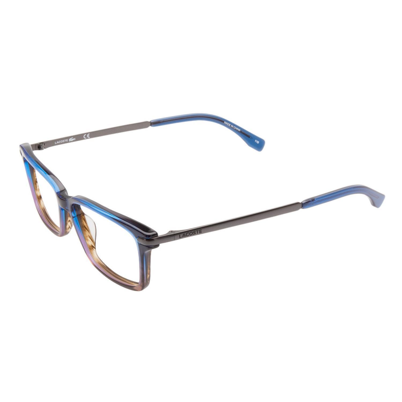 1eca5bad363f Shop Lacoste L2720 424 Blue Brown Gradient Prescription Eyeglasses - Free  Shipping Today - Overstock - 11954048