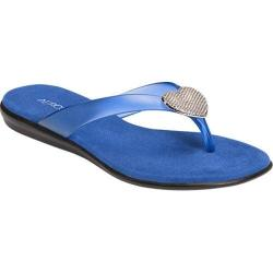 Women's Aerosoles Chlose At Heart Flip Flop Blue Synthetic