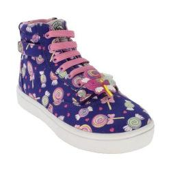 Girls' Bumbums & Baubles Brooklyn High Top Candy Canvas