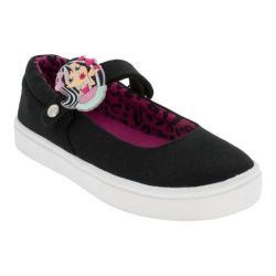 Girls' Bumbums & Baubles Olivia MJ Sneaker Black Canvas