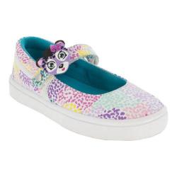 Girls' Bumbums & Baubles Olivia MJ Sneaker Speckled Canvas