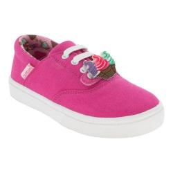 Girls' Bumbums & Baubles Spencer Sneaker Fuchsia Canvas