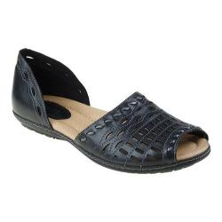 Women's Earth Shore Black Soft Calf Leather