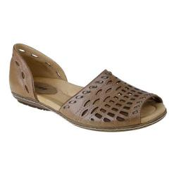 Women's Earth Shore Light Pecan Full Grain Leather