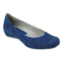 Women's Earthies Bindi Royal Blue Soft Buck
