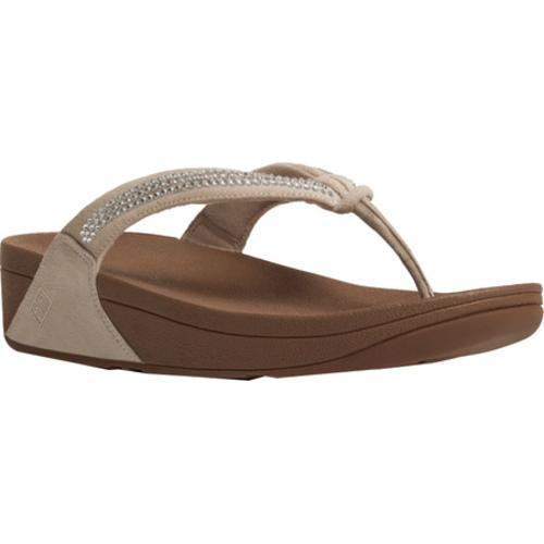 258e3a0266f Shop Women s FitFlop Crystal Swirl Thong Sandal Nude - Free Shipping Today  - Overstock.com - 11965280