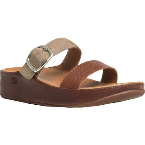 f4a8d7355 Shop Women s FitFlop Stack Leather Sandal Dark Tan - Free Shipping Today -  Overstock.com - 11965326