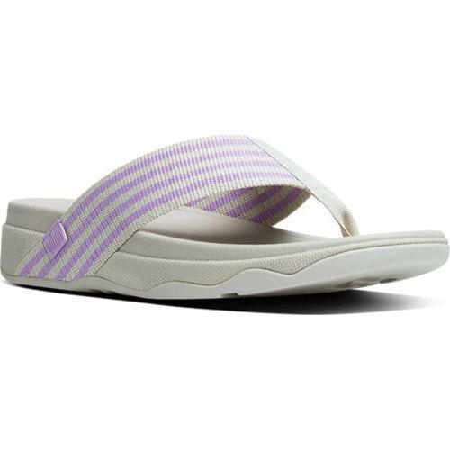 b5cc777d0163 Shop Women s FitFlop Surfa Thong Sandal Dusty Lilac Rainy Day - Free  Shipping On Orders Over  45 - Overstock - 11965348