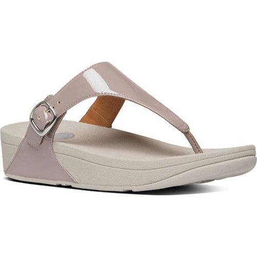 Shop Women S Fitflop The Skinny Thong Sandal Plumthistle