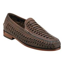 Men's Florsheim Berkley Weave Brown Crazy Horse Leather