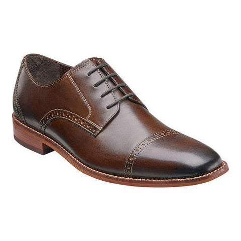 Men's Florsheim Castellano Cap Ox Brown Smooth Leather
