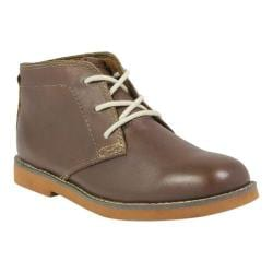 Boys' Florsheim Bucktown Chukka Jr. Brown/Brick Smooth Leather