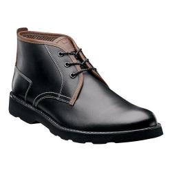 Men's Florsheim Casey Chukka Boot Black Leather