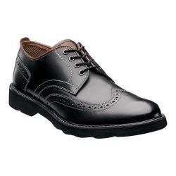 Men's Florsheim Casey Wing Tip Oxford Black Leather