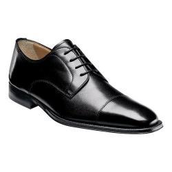 Men's Florsheim Classico Cap Ox Black Calfskin Leather