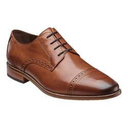 Men's Florsheim Castellano Cap Ox Saddle Tan Smooth Leather (More options available)