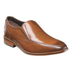 Men's Florsheim Castellano Moc Toe Slip On Saddle Tan Smooth Leather