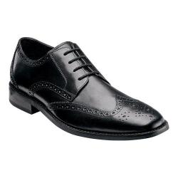 Men's Florsheim Castellano Wing Tip Black Smooth Leather