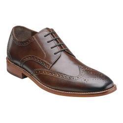 Men's Florsheim Castellano Wing Tip Brown Smooth Leather