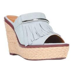 Women's Franco Sarto Candace Sandal Dusty Blue Diva Suede