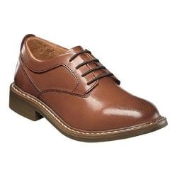 Boys' Florsheim Studio Plain Toe Oxford Jr. Cognac Leather