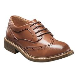 Boys' Florsheim Studio Wing Tip Oxford Jr. Cognac Leather