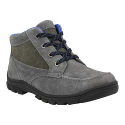 Boys' Florsheim Trektion Hiker Dark Grey Leather