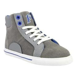Boys' Florsheim Varsity High Jr. Gray Smooth Leather