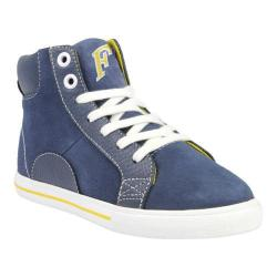 Boys' Florsheim Varsity High Jr. Navy Smooth Leather