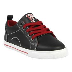 Boys' Florsheim Varsity Low Jr. Black Smooth Leather