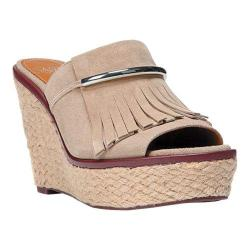 Women's Franco Sarto Candace Sandal Soft Tan Lux Brushed Suede