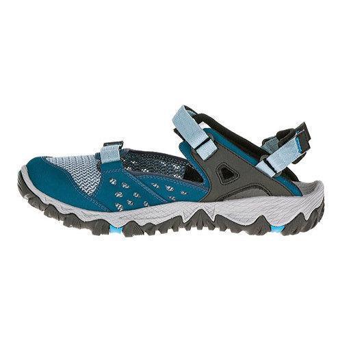 Women's Merrell All Out Blaze Sieve MJ Blue | Shopping The Best Deals on Slip ons