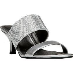 Women's Life Stride Flashy Slide Sandal Silver Synthetic