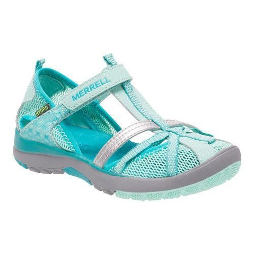 9051cbc4e6b3 Shop Girls  Merrell Hydro Monarch Sandal Kid Turquoise Leather Mesh - Free  Shipping Today - Overstock - 11965815