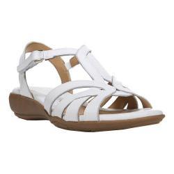 Women's Naturalizer Cassie Sandal White Woven Atanado Leather