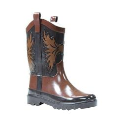 Boys' Western Chief Western Cowboy Rain Boot Brown