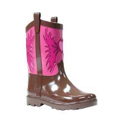 Girls' Western Chief Western Cowgirl Rain Boot Pink