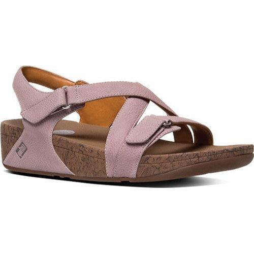 1aca50b41 Shop Women s FitFlop The Skinny Sandal Backstrap Plumthistle - Free  Shipping Today - Overstock - 11969285