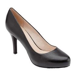 Women's Rockport Seven to 7 95mm Plain Pump Black Pebbled Leather