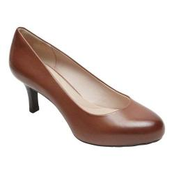 Women's Rockport Seven To 7 Low Pump Nutella Burnished Calf