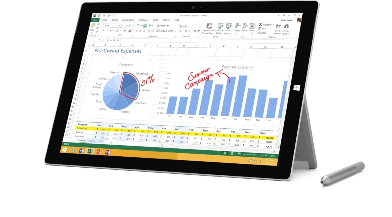 "Microsoft Surface Pro 3 Tablet - 12"" - 8 GB DDR3 SDRAM - Intel Core i"