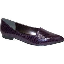 Women's Bellini Flora Flat Purple Snake Fabric