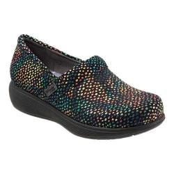 Women's SoftWalk Meredith Clog Candy Dot Leather