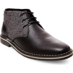 Men's Steve Madden Harken Chukka Black Multi Leather/Fabric