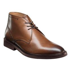 Men's Florsheim Hamilton Chukka Boot Cognac Smooth Leather
