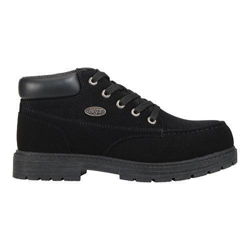 Men's Lugz Loot SR Boot Black Leather - Thumbnail 1