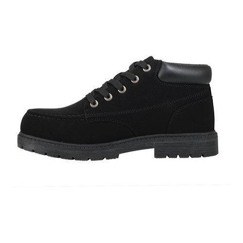 Men's Lugz Loot SR Boot Black Leather - Thumbnail 2