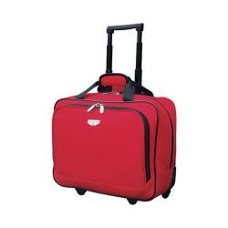 Travelers Club 17in Single Section Rolling Briefcase Red|https://ak1.ostkcdn.com/images/products/122/981/P18878328.jpg?impolicy=medium