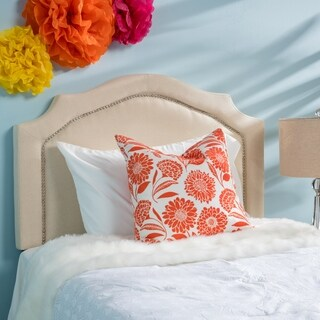 Broxton Twin Studded Fabric Kid Headboard by Christopher Knight Home (3 options available)